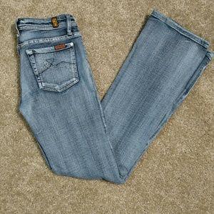7FAM Bootcut Jean Size 26